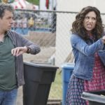 "SPEECHLESS - ""Pilot"" - Maya DiMeo moves her family to a new, upscale school district when she finds the perfect situation for her eldest son, JJ, who has cerebral palsy. While JJ and daughter Dylan are thrilled with the move, middle son Ray is frustrated by the family's tendencies to constantly move, since he feels his needs are second to JJ Soon, Maya realizes it is not the right situation for JJ and attempts to uproot the family again. But JJ connects with Kenneth, the school's groundskeeper, and asks him to step in as a his caregiver, and Ray manages to convince Maya to give the school another chance, on the series premiere ""Speechless"" WEDNESDAY, SEPTEMBER 21 (8:30-9:00 p.m. EDT), on the ABC Television Network. (ABC/Eric McCandless) JOHN ROSS BOWIE, MINNIE DRIVER"