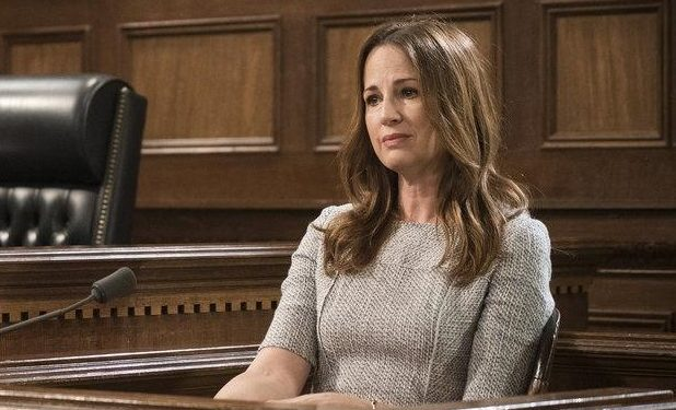 Paula Marshall as Laura Collett -- (Photo by: Michael Parmelee/NBC)