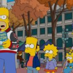 "THE SIMPSONS: After Homer catches Bart rooting for Springfield's football rival, the Boston Americans, he plans a family ""hate-cation"" trip to Boston in an attempt to show Bart that Boston is a terrible city on the all-new ""The Town"" episode airing Sunday, Oct 9, (8:00-8:30 PM ET/PT). THE SIMPSONS ™ and  © 2016 TCFFC ALL RIGHTS RESERVED.  CR:FOX."