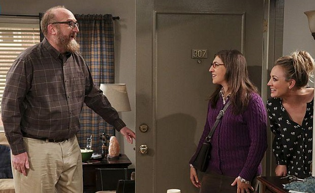 Brian Posehn, Mayim Bialik, Kaley Cuoco, The Big Bang Theory, CBS/Micahel Yarish Warner Bros.