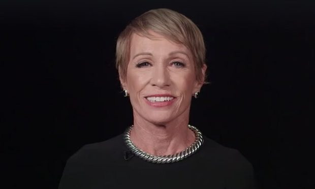 Barbara Corcoran Shark Tank video on Facebook