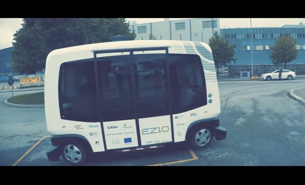 bus Metropolia Automated Bus YouTube