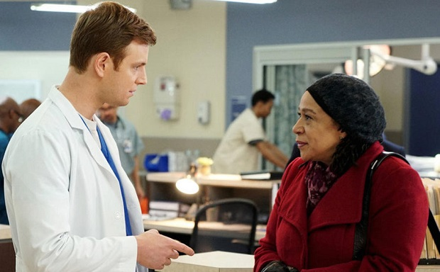 Chicago Med Nick Gelfuss, S. Epatha Merkerson, Chicago Med