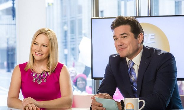 Melissa Joan Hart, Dean Cain, Broadcasting Christmas, Hallmark/Crown Media
