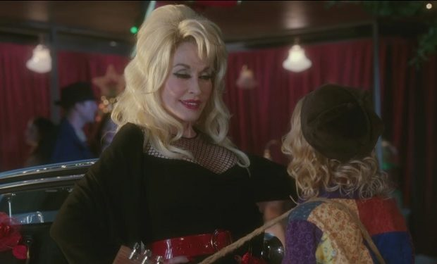 dolly parton's Christmas of Many Colors NBC