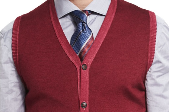kiton-cashmere-red-sweater-vest