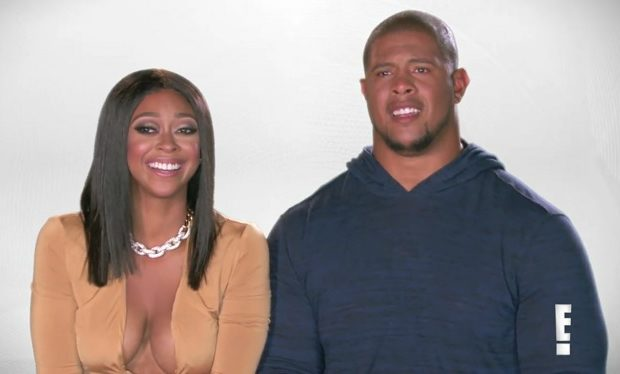 Rodger Saffold and his wife Asia