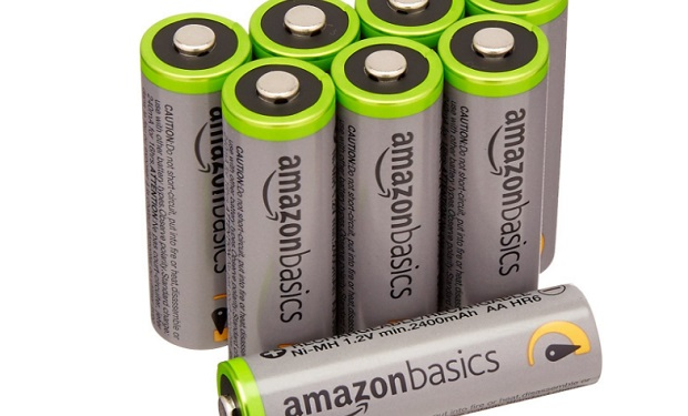 AmazonBasics AA High-Capacity Rechargeable Batterie