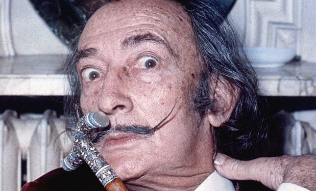 Salvador Dali by Allan Warren