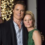 Dylan Neal Anne Heche Looks Like Christmas Hallmark Crown Media