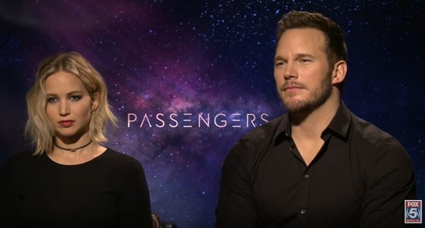 Jennifer Lawrence Chris Pratt Passengers Interview FOX 5