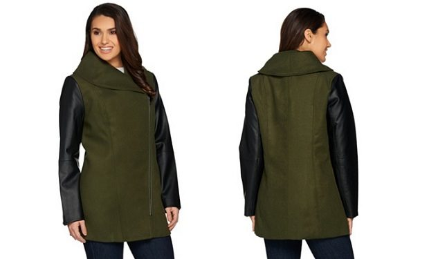 Lisa Rinna Coat QVC