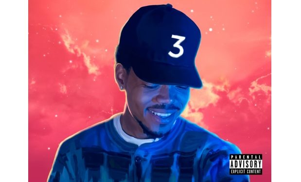 Chance the Rapper coloring-book-poster
