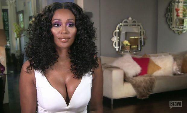 Cynthia Bailey talking RHOA Bravo
