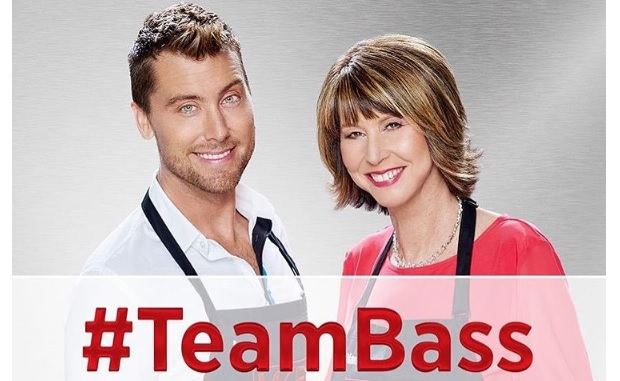 lance-bass and mother diane My Kitchen Rules FOX