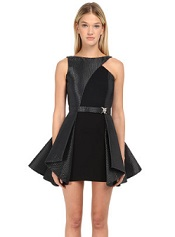 Philipp Plein Dress Company fit-and-flare mini dress