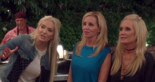 RHOBH Camille Grammer and Kim Richards