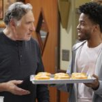 """What's the Big Idea"" -- When Franco's creative new donut flavors become bestsellers, Arthur tries to prove he's still relevant by coming up with a unique one of his own. Also, Fawz works to dream up an inventive password in order to keep Maya and James from stealing his store's WiFi, on SUPERIOR DONUTS, Monday, Feb. 6 (9:00-9:30 PM, ET/PT) on the CBS Television Network. Pictured L-R: Judd Hirsch as Arthur and Jermaine Fowler as Franco Photo: Monty Brinton/CBS ©2016 CBS Broadcasting, Inc. All Rights Reserved"
