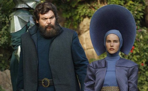 Pictured: (l-r) Vincent D'onofrio as Wizard, Isabel Lucas as Anna -- (Photo by: Rico Torres/NBC)