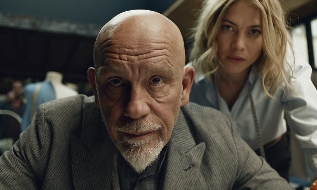 John Malkovich in Squarespace Superbowl ad