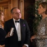 (l-r): Pictured: Christine Baranski as Diane Lockhart, Bernadette Peters as Lenore Rindell, Paul Guilfoyle as Henry Rindell. Photo: Photo: Patrick Harbron/CBS