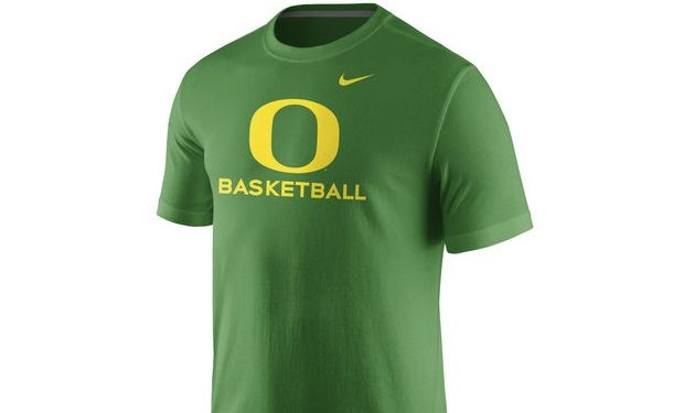oregon basketball nike shirt