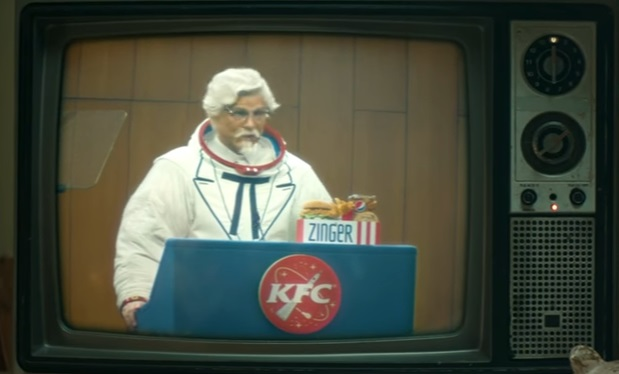 Rob Lowe KFC Zinger Launch