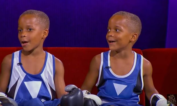 Twin Boxers Little Big Shots NBC