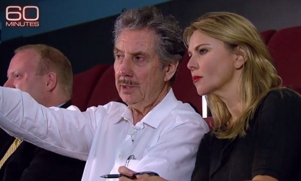Robert Bigelow and Lara Logan on 60 Minutes CBS