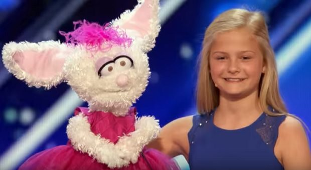 This little ventriloquist just shocked the world with her singing talents