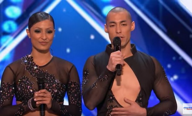Junior and Emily Alabi on AGT, NBC