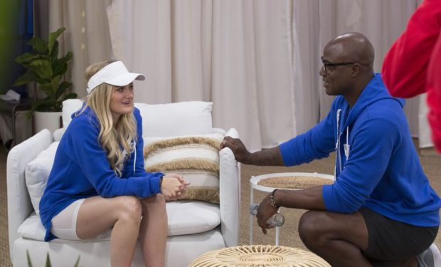 AJ Michalka Demarcus Ware Battle ABC