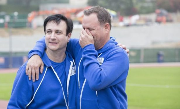 Bronson Pinchot Dave Coulier Battle of Network Stars ABC Kelsey McNeal