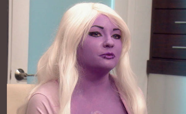 Botched Purple Skin Cosplayer Bunny Wants To Go Bigger