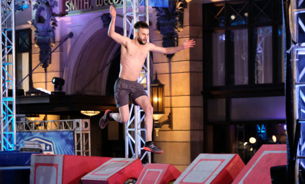 Ben on American Ninja Warrior NBC