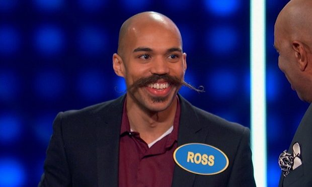 Ross Hudson on Celebrity Family Feud ABC