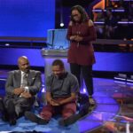 STEVE HARVEY, ADDISON HAYDEN, SHIRLEY HAYDEN (UNIQUE SEAT