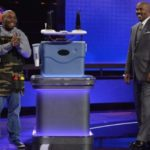 CHARLES COLEMAN (THE ULTIMATE TAILGATOR COOLER), STEVE HARVEY Lisa Rose/ABC