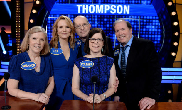 Lea Thompson Fam Feud