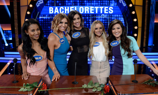 Bachelorettes on Fam Feud ABC