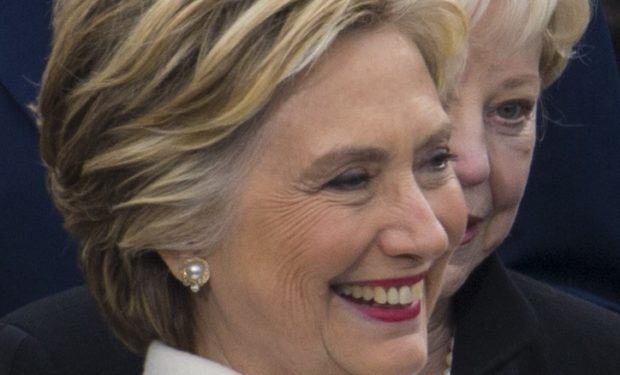 Hillary Clinton at the 58th Presidential Inaugural Ceremony