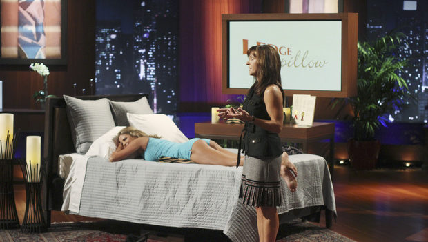 Ledge Pillow on Shark Tank ABC
