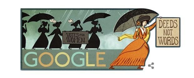 Alice Paul Google Doodle