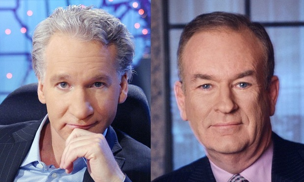 Bill Maher, Real Time, Bill O'Reilly Factor