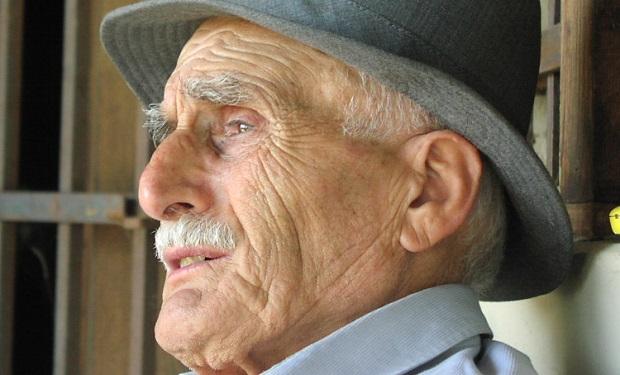 Old man gazing