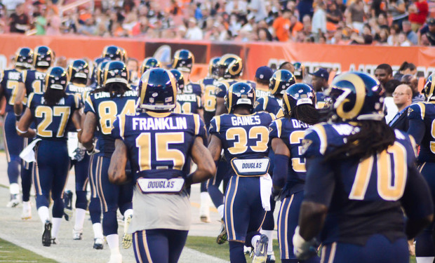 Rams headed West