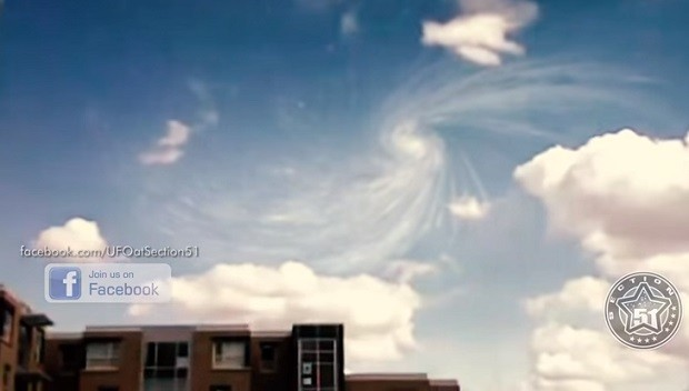 clouds swirling over Large Hadron Collider