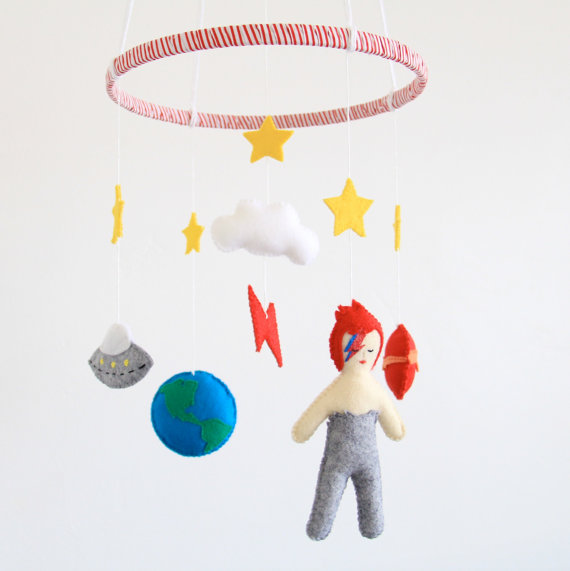 bowie crib mobile