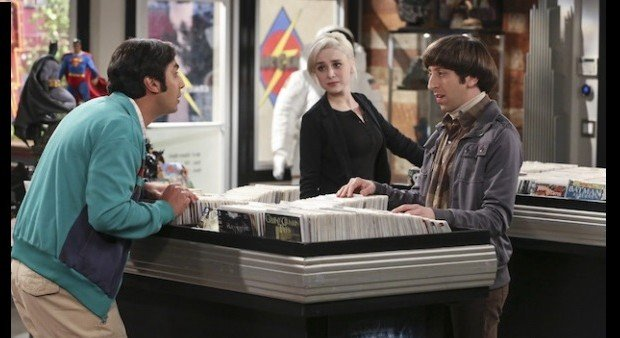 Kunal Nayyar, Alessandra Torresani, Big Bang Theory, CBS