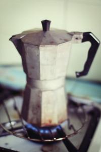 Moka Coffee Pot (photo by Suzette via Wikimedia Commons